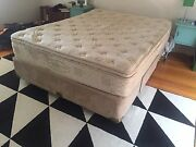 Queen bed mattress and base Altona Meadows Hobsons Bay Area Preview