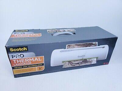 Scotch Pro Thermal Laminator 9 Never Jam Technology Tl906 Brand New