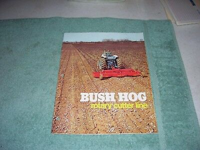 1970s Bush Hog Rotary Cutter Brochure 310 315 109 126 12 307 502 266 1050