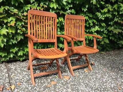 Folding Garden Chairs Darling Point Eastern Suburbs Preview