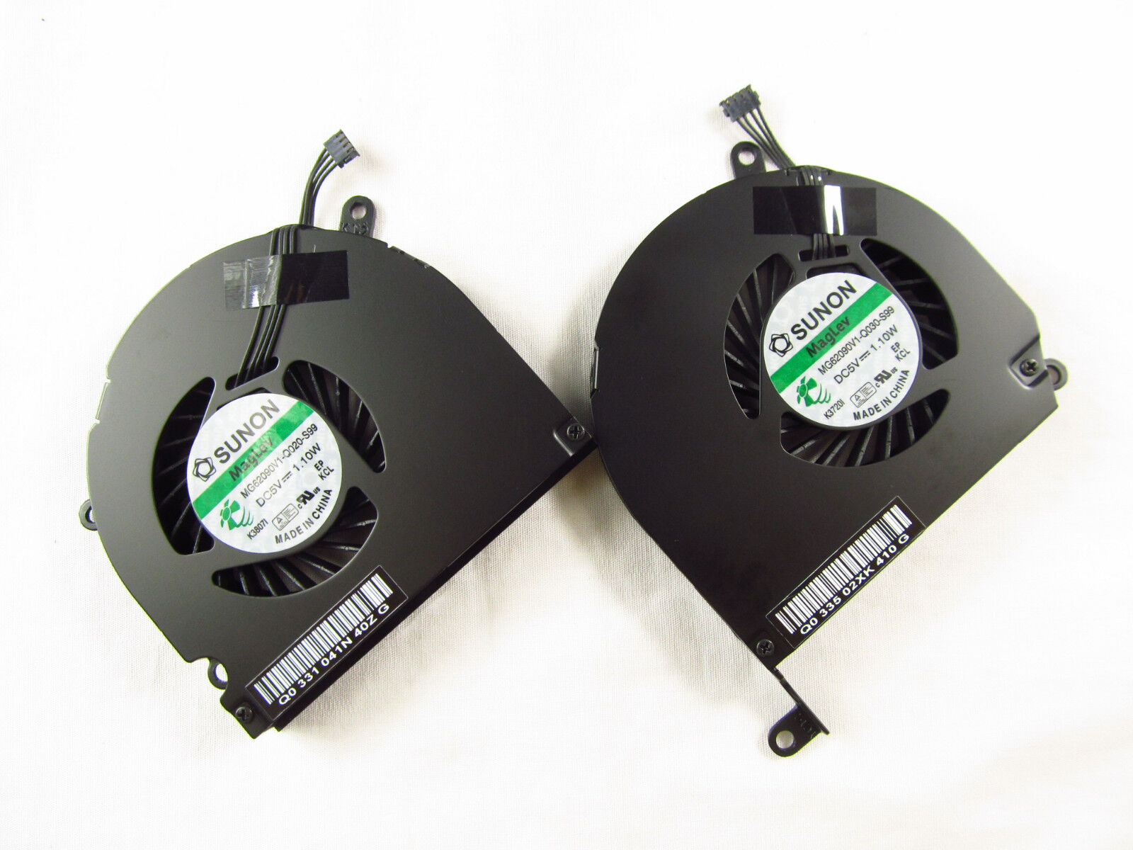 "NEW MACBOOK Unibody PRO A1286 15"" MC026 MC118 MB985 MB986 CPU FAN Cooler L & R"
