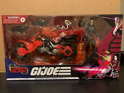 GI Joe Classified Series Baroness with Cobra COIL New Sealed Target Exclusive
