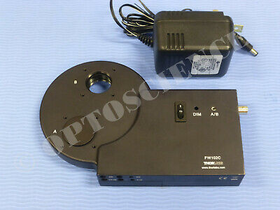 Thorlabs Fw102c Motorized 6-position 1 Filter Wheel Integrated Controller