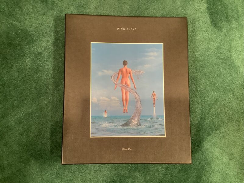 Pink Floyd..7 CDs, Shine On Book,Postcards and Pulse book! Check description:)