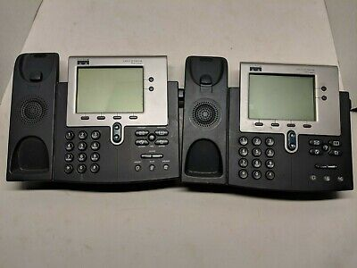 Lot Of 33 Cisco 7940g 7960g Unified Ip Phone Voip Telephone