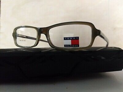 Tommy Hilfiger Glasses Frame TH3045 Green Plastic with Demo Lenses Vintage Mens