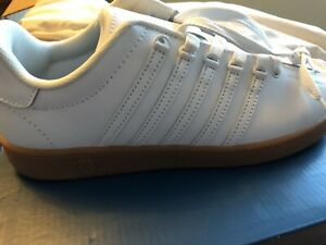 K-Swiss white shoes