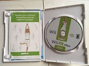 Wii Fit game and Balance board