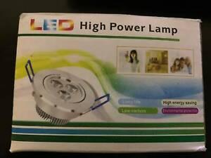 8 pcs Ceiling Lamp 3W LED 3x1w
