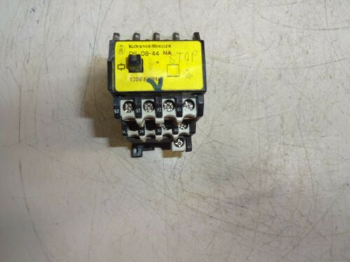 KLOCKNER MOELLER DIL 08-44 MOTOR STARTER 120V