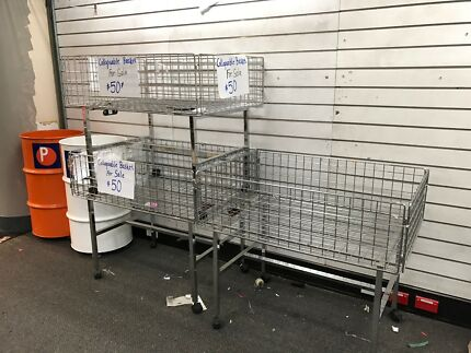 Store Display Baskets Collapsible
