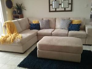 3 seater lounge with chaise Wellington Point Redland Area Preview