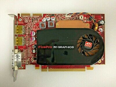 Dell ATI FirePro V3750 Video Card PCIE 256MB GDDR3 *TESTED*   0K730M