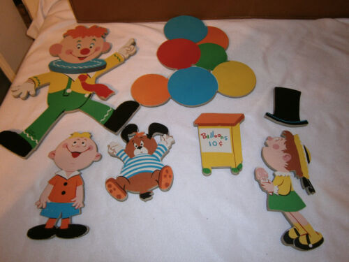 Vintage, 1973, The Dolly Toy Co. Nursery Wall Pin-Ups