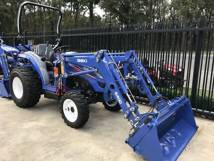 Iseki TG6400 hydrostatic Tractor not Kubota or John deere Silvan Yarra Ranges Preview