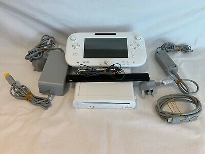 Nintendo Wii U Basic Set 8GB Handheld System - White