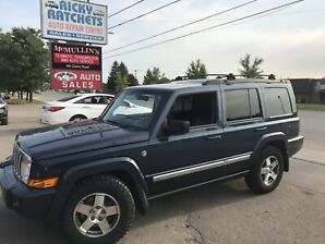 2010 JEEP COMMANDER SPORT 4X4 - RARE WITH THIS KM $12500.00 CERT