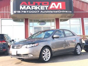 2011 Kia Forte 2.4L SX, Leather, Sunroof, WE APPROVE ALL CREDIT