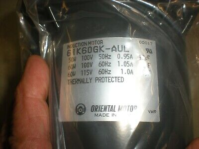01K3GN-B Induction Motor Oriental Motor Model New Old Stock  /<