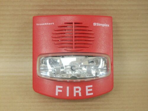 Simplex 4903-9426 Red Wall Horn Strobe Fire Alarm