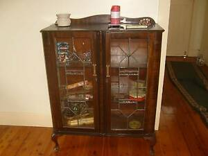 Antique display cabinet Muswellbrook Muswellbrook Area Preview