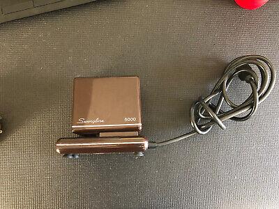 Vintage Swingline 5000 Electric Stapler W Staples Extra Cart Heavy Duty Brown