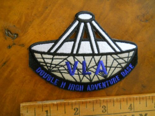PHILMONT SCOUT RANCH DOUBLE H VLA PATCH (NEW WITH TAG)