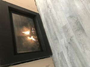 WOLF Natural Gas Fireplace Clean Face Design