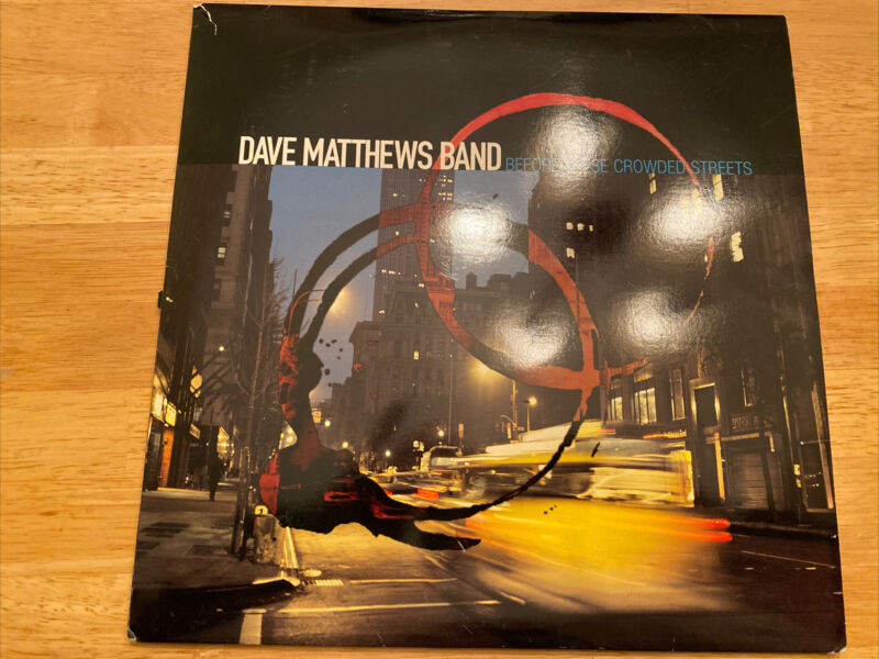 Dave Matthews Band DMB Vinyl Before These Crowded Streets - Extremely Rare