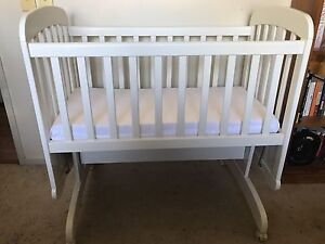 Childcare baby CRADLE with new Mattress p/up 2560 St Helens Park Campbelltown Area Preview