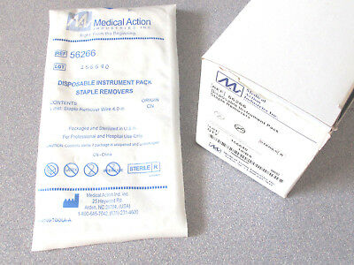 Medical Action Industries 56266 Staple Removers Qty 10 Box