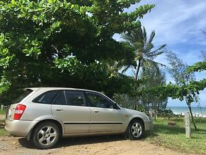 2001 Mazda 323 hatchback,Automatic, low kms, RWC, regio Cairns Cairns City Preview