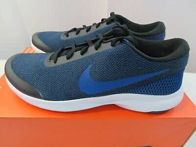 Nike Flex Experience RN 7 WIDE 4E AA7405-003 Blue Mens Running Shoes Size 11