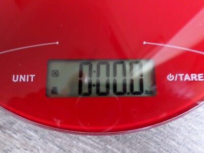 Mainstays Slimline Digital Food Kitchen Scale 11 Lbs. Digital Scale Small Scale