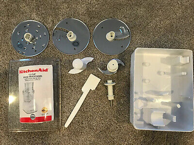 Kitchenaid 12 Cup Food Processor Attachment Set KFPW760 KFPM770 FREE PRIORITY for sale  Salt Lake City