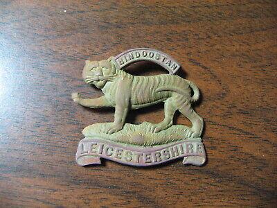 "Royal Leicestershire ""Hindoostan"" Badge World War II era Metal Detector Find"