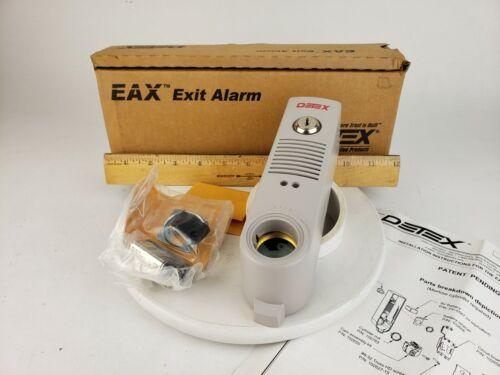 Detex EAX-500 Gray Exit Door Alarm 9V Commercial Surface Mount 100 db Security