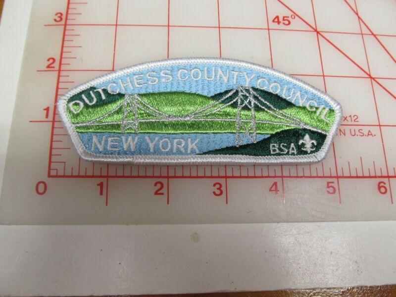 Dutchess County Council CSP collectible PB patch (o34)