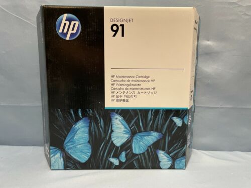 HP Designjet 91 Maintenance Cartridge C9518A Expired 2019