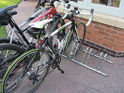 4 Section stand alone cycle rack/bike rack/storage by BWT