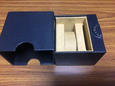 GENUINE BVLGARI Watch Box!  Rare Hard To Find Item!  Great Condition!! for sale  Shipping to India