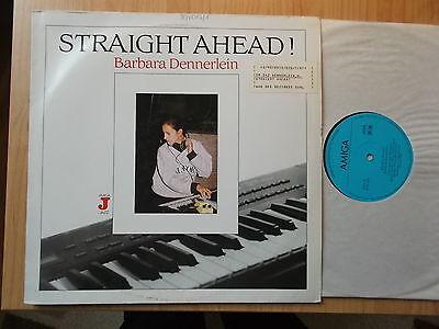BARBARA DENNERLEIN DDR AMIGA LP: STRAIGHT AHEAD! (856464)