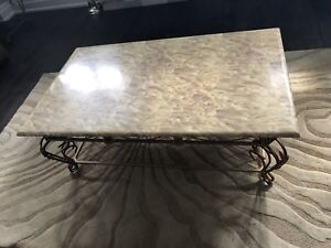 Marble Coffee and 2 end tables