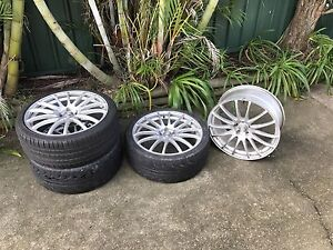 20 inch Speedy Wheels (FIN) - 245/35/R20 - Ford Falcon Kahibah Lake Macquarie Area Preview