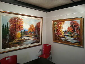 Listed Artist Gyula Marosan Oil Painting Collection - Toronto