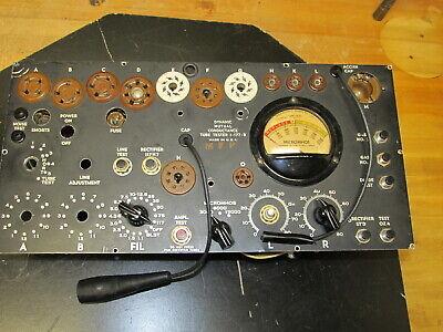 Headphones HS-16A TV-7 TV-7D Tube Tester Noise Test Vintage Military Headset