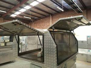Ute canopy and toolboxes for sale FROM $2300 Mentone Kingston Area Preview