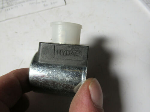 2 HYDAC 3000249 Solenoid Coils 24 VDC New