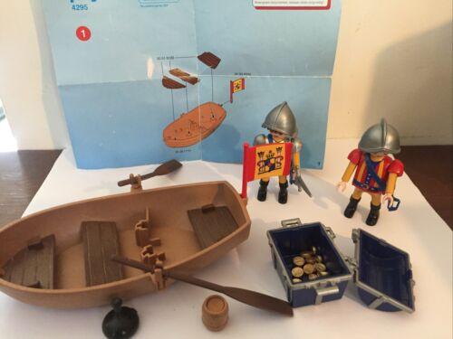 Sympa barque des conquistador 4295    playmobil ( pirate  )