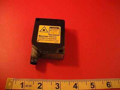 Baumer Oadm 20i4560s14c Sensor Laser Distance Wavelength 675nm Ch-8501 Used